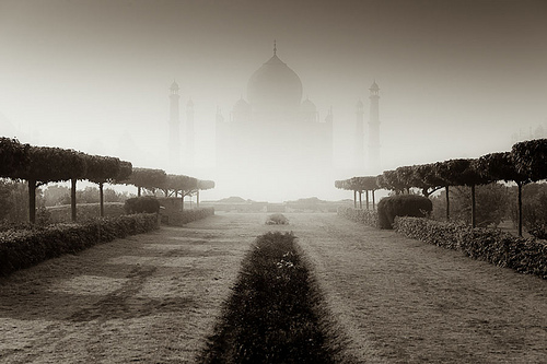 Floating Palace of Taj
