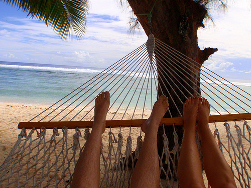 Crown Beach Resort Rarotonga - hammock