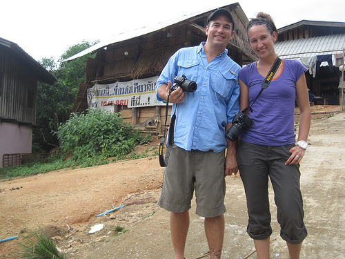 Kaya's first honeymooners on their Photography Expedition in Thailand