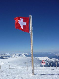 Swiss flag Hayley