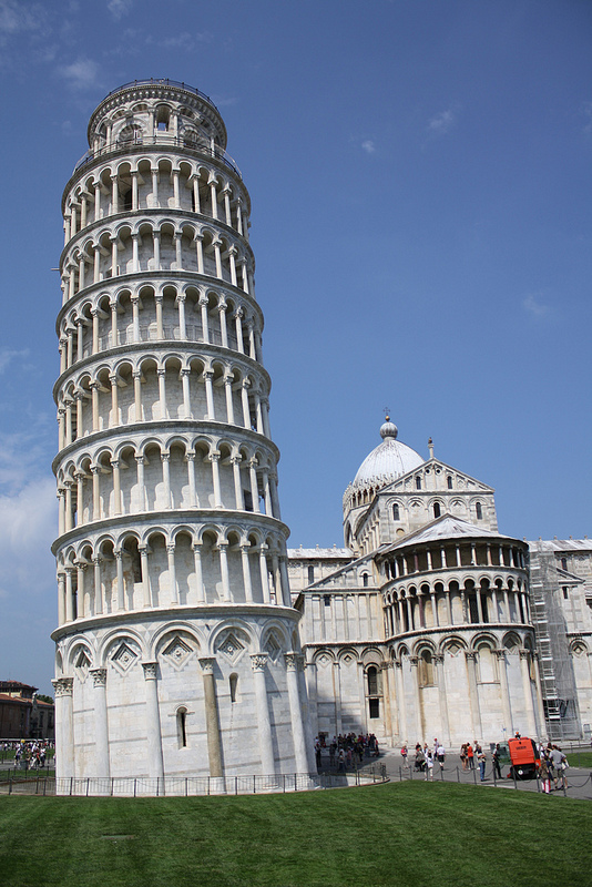 Italy, leaning tower of pisa