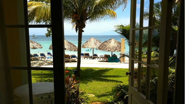 a room with a view at Sandals Negril