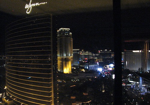 Vegas views at night