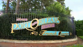 Port Orleans Resort sign