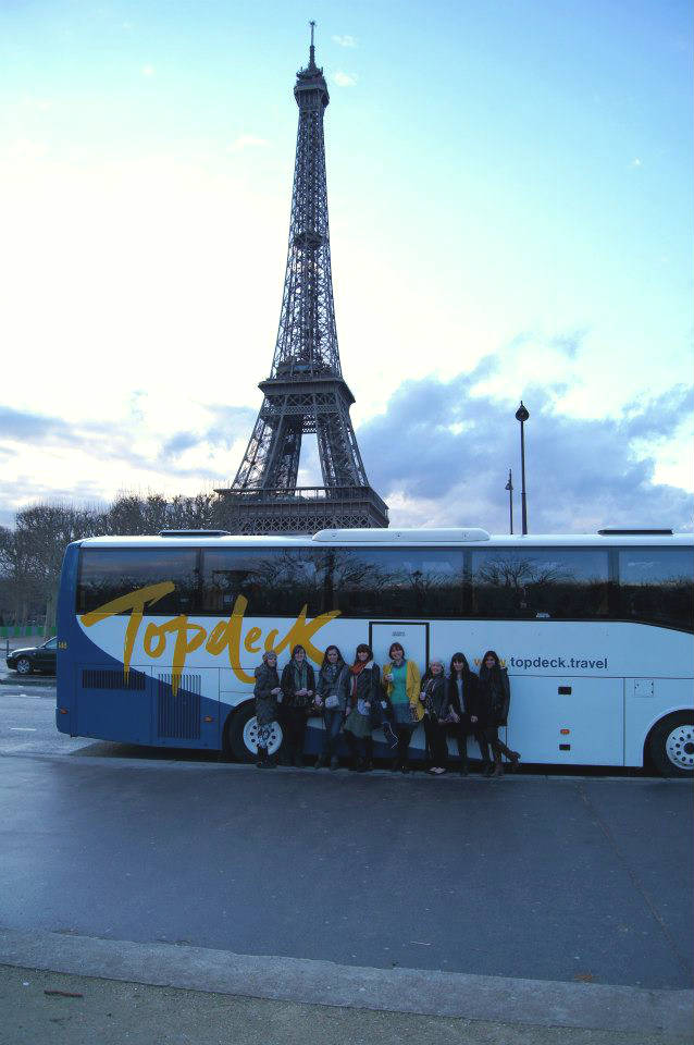 topdeck bus in Paris