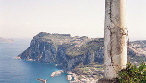 Capri views from rotunda