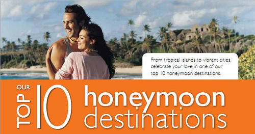 Our top 10 honeymoon destinations for Honeymoon locations in california