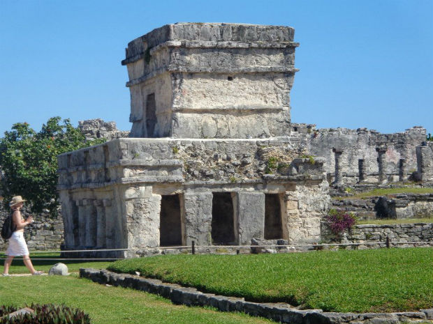 Ruins in Tullum, Mexico