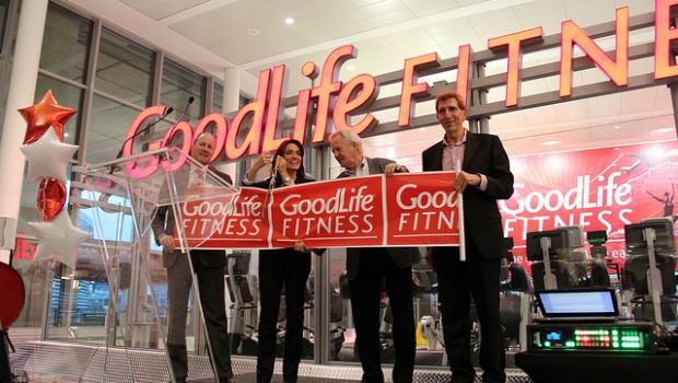 Goodlife Fitness Grand Opening at Toronto airport