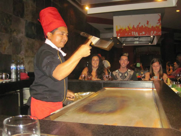 Teppanyaki at Hard Rock Cancun