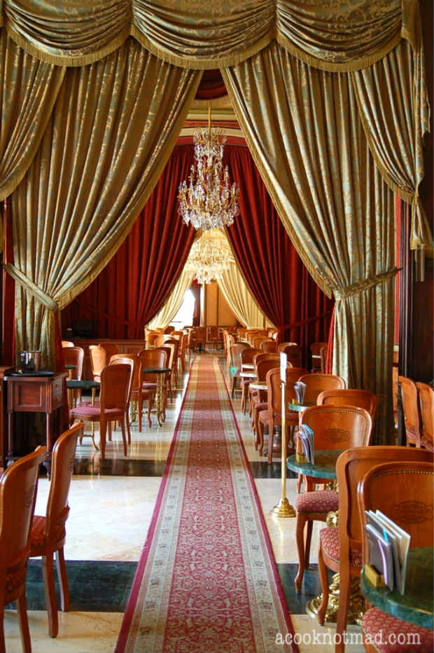 Gerbeaud coffee house in Budapest