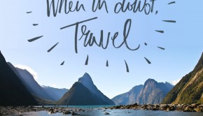 travel quote when in doubt travel