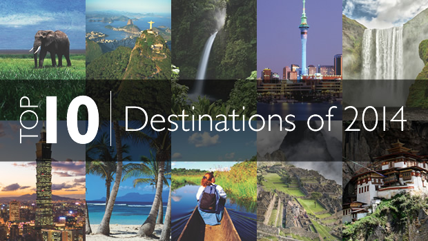 Top 10 Travel Destinations of 2014