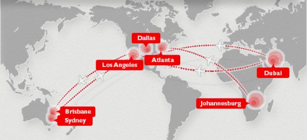 Infographic The Longest Flights In The World
