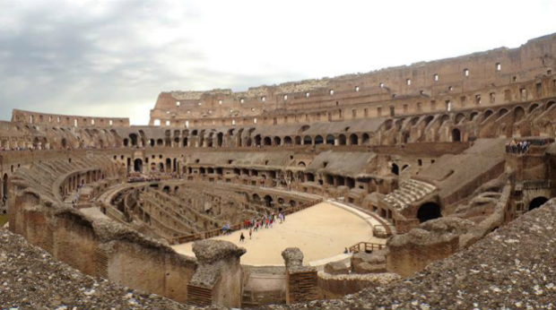 Ancient Rome In Modern Day Italy