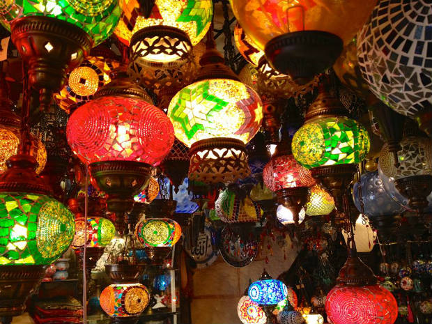 lanterns in turkey