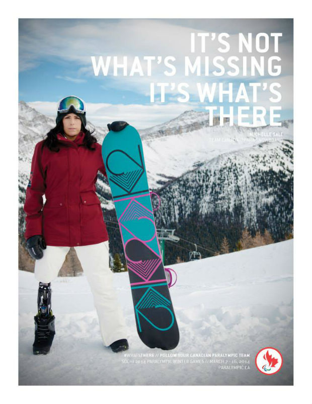 michelle paralympic ad