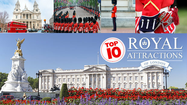 Top 10 royal attractions of London banner
