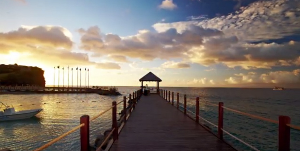 Jetty at Sandals Grenada