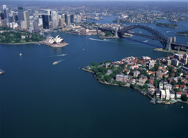 Sydney Australia view from above