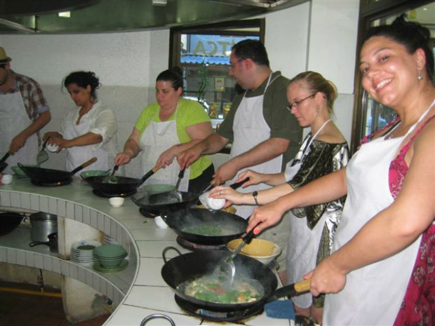 Thailand cooking class