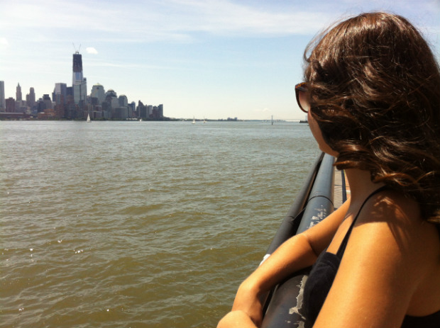 ferry ride in NYC