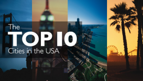 Top 10 cities in the USA