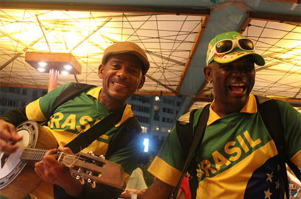 Entertainers at World Cup in Brazil