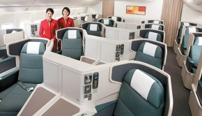 Cathay Pacific Inside Plane