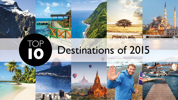 Top 10 Travel Destinations of 2015