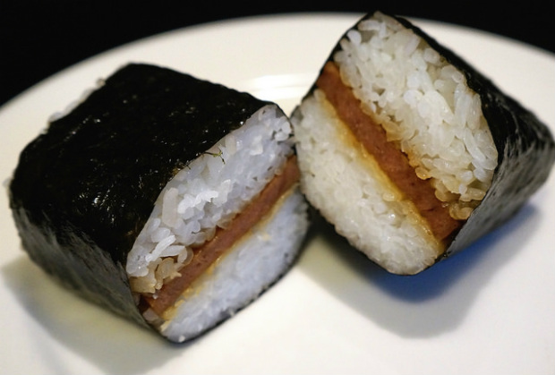 musubi hawaiin food