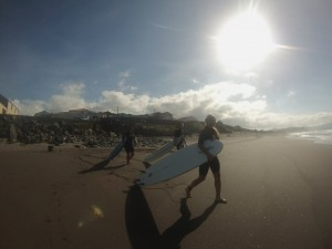 Azores surfing