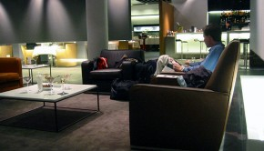 Air Canada airline lounge