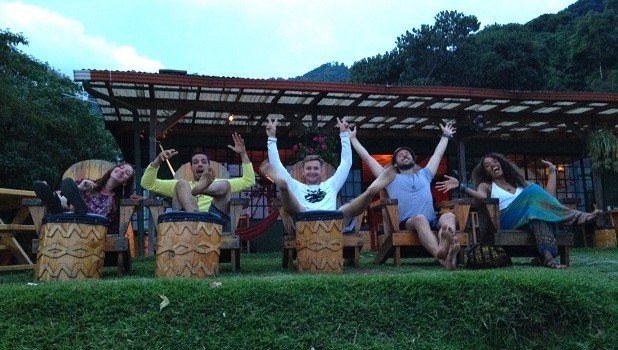 People in chairs in Guatemala on Buddymoon
