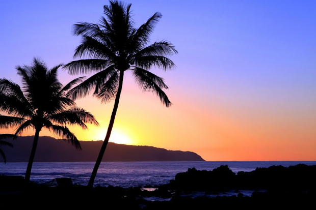 hawaii sunset