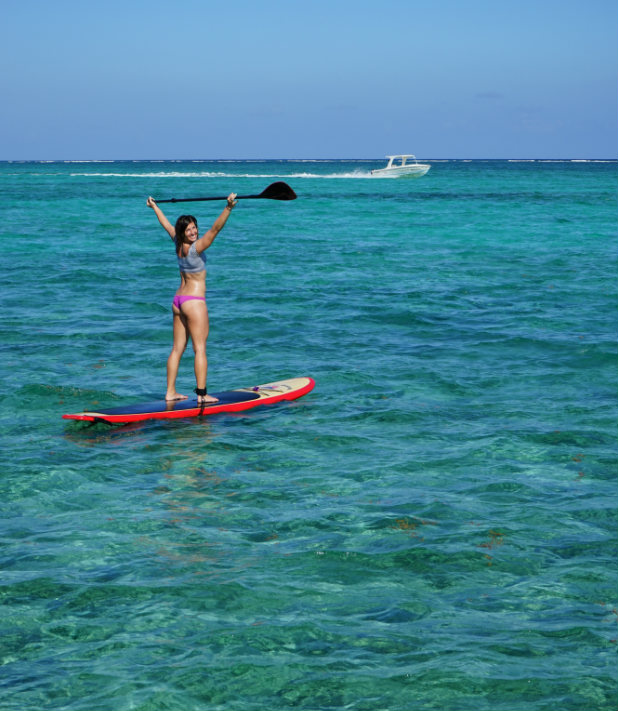 Stand Up Paddling Boarding Belize