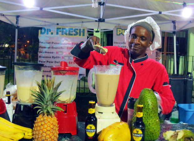 Trinidad smoothie chef