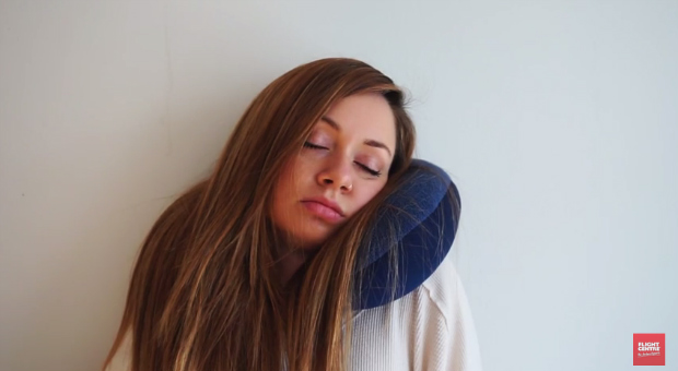 neck pillow sleeping