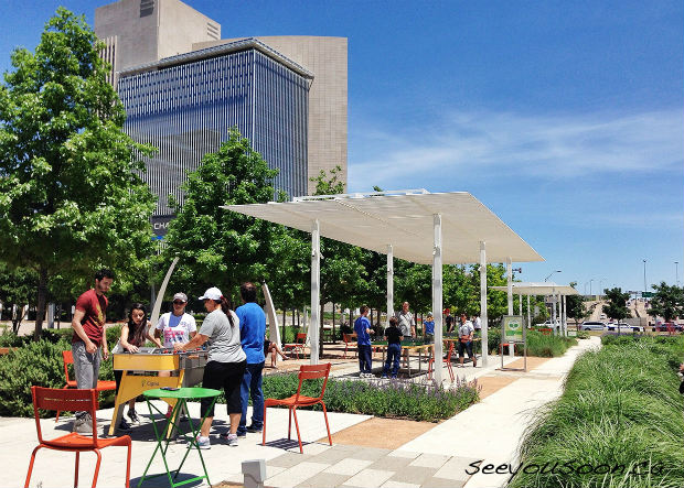 Klyde Warren Park things to do in Dallas