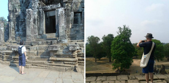 Cambodia temples Southeast Asia