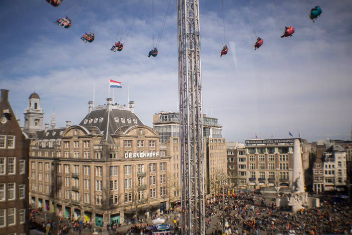Old Dam Square Amsterdam