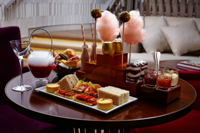 London for Families One Aldwych Charlie and the Chocolate Factory Afternoon Tea