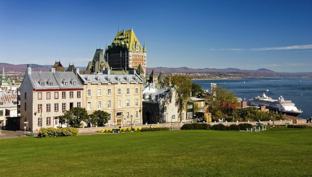 Chateau Frontenac, Quebec, Canada, Cruise