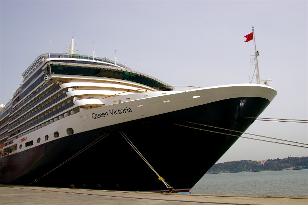 Cunard Queen Victoria ship