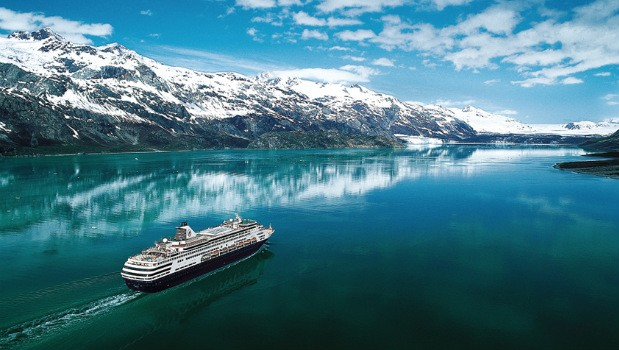 Cruise ship in Alaska