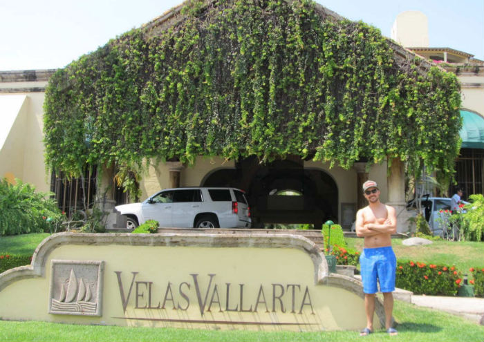matt at velas vallarta resort