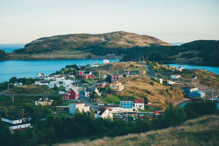 Newfoundland Colourful Houses