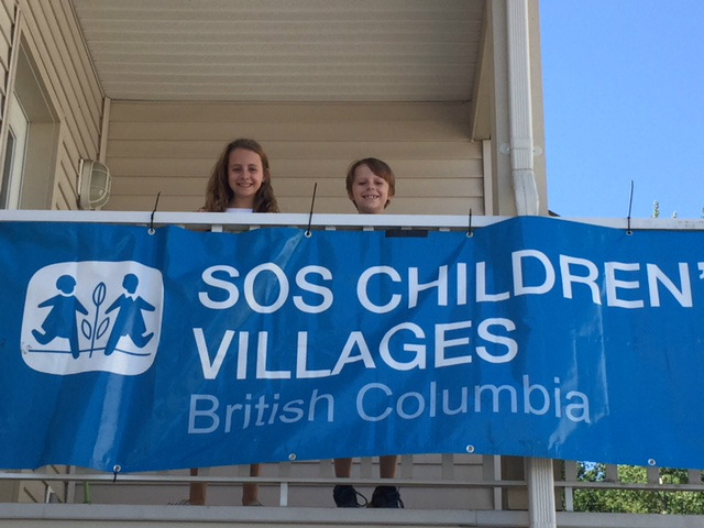 SOS Children's villages sign