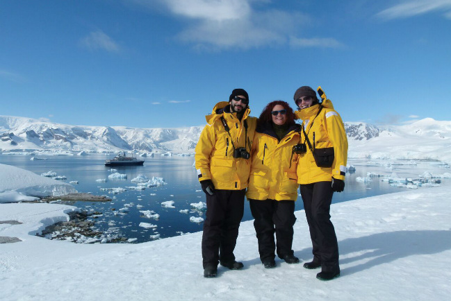 antartica with intrepid travel