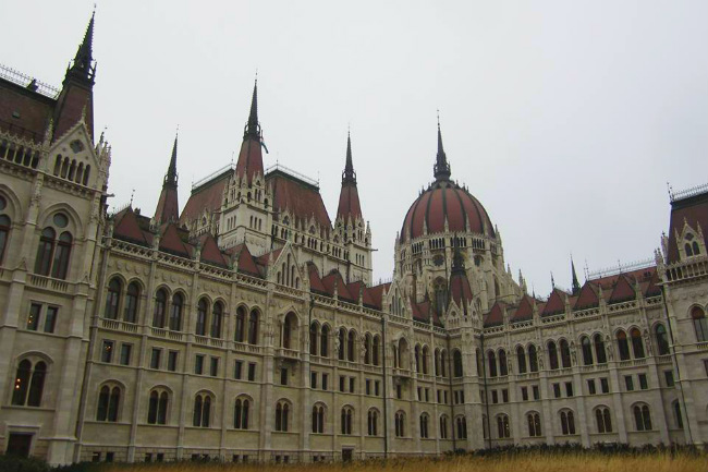 building in Budapest